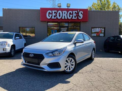 2018 Hyundai Accent for sale at George's Used Cars - Telegraph in Brownstown MI