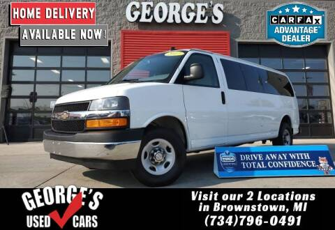 2017 Chevrolet Express Passenger for sale at George's Used Cars - Pennsylvania & Allen in Brownstown MI