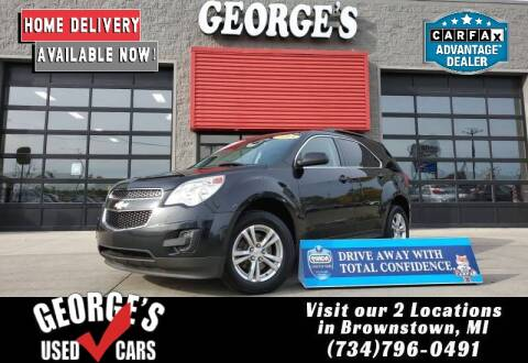2013 Chevrolet Equinox for sale at George's Used Cars - Telegraph in Brownstown MI