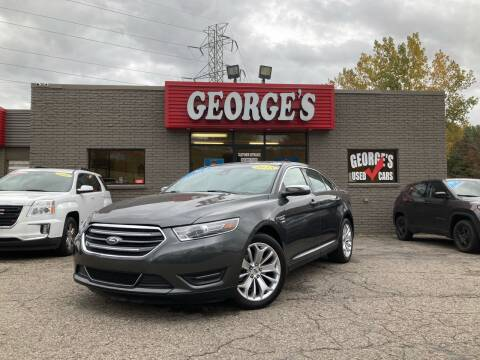 2018 Ford Taurus for sale at George's Used Cars - Telegraph in Brownstown MI