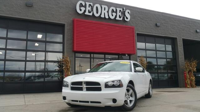 2010 DODGE CHARGER SE 4DR SEDAN bright white clearcoat cloth a great deal in flat rock wow wha