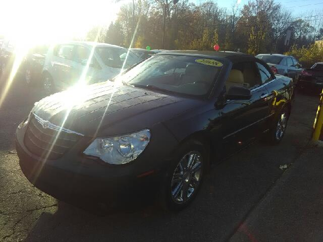 2008 CHRYSLER SEBRING LIMITED 2DR CONVERTIBLE black 35l v6 mpi 24v high-output dutiful braking