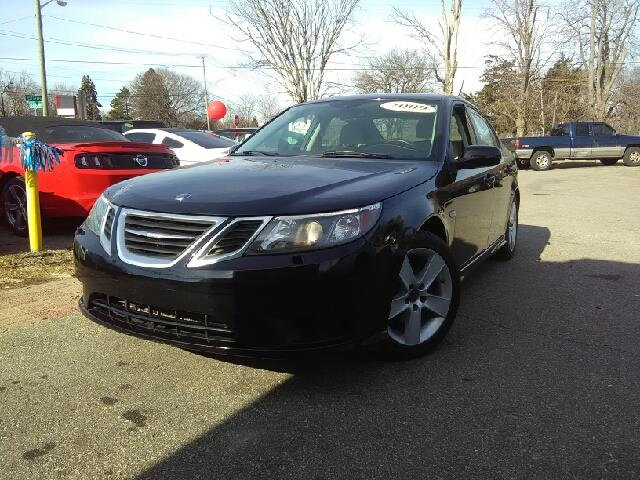 2009 SAAB 9-3 20T TOURING 4DR SEDAN black 2-stage unlocking doors abs - 4-wheel active head re