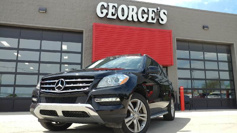 2012 MERCEDES-BENZ M-CLASS ML 350 AWD 4MATIC 4DR SUV black carfax 2 owners and no accidents 4mati