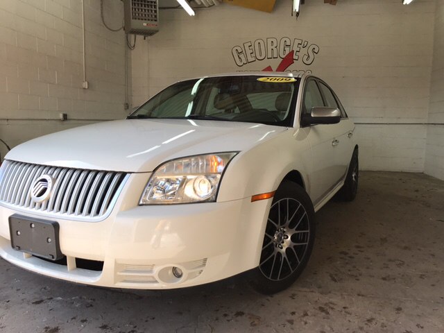 2009 MERCURY SABLE PREMIER 4DR SEDAN white suede carfax no accidents my my my what a deal wh