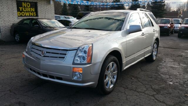 2007 CADILLAC SRX V6 4DR SUV light platium attention stop read this this 2007 srx is for cad