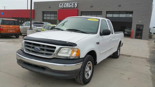 2003 FORD F-150 XLT 4DR SUPERCAB RWD STYLESIDE S off white carfax no accidents extended cab my