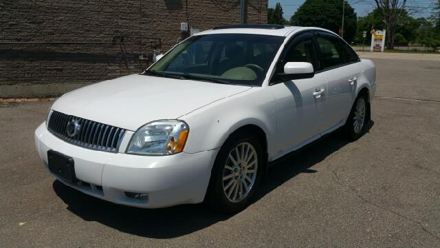 2006 MERCURY MONTEGO PREMIER 4DR SEDAN oxford white dont bother looking at any other car get ho