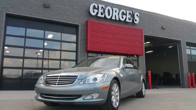 2008 MERCEDES-BENZ S-CLASS S550 4MATIC AWD 4DR SEDAN andorite grey metallic carfax 2 owners and n