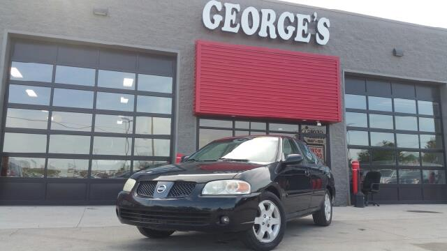 2006 NISSAN SENTRA 18 S 4DR SEDAN WAUTOMATIC blackout my my my what a deal georges enterpr