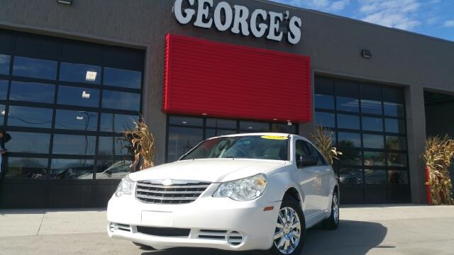 2009 CHRYSLER SEBRING LX 4DR SEDAN stone white wow what a sweetheart what an outstanding deal