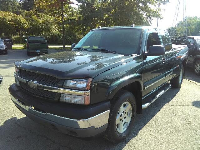 2005 CHEVROLET SILVERADO 1500 Z71 4DR EXTENDED CAB 4WD SB dark green metallic carfax no accidents