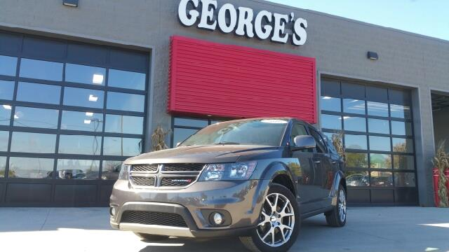 2016 DODGE JOURNEY RT 4DR SUV granite crystal metallic carfax 1 owner and no accidents titanic c