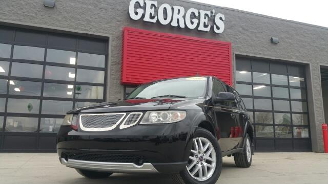 2006 SAAB 9-7X 42I AWD 4DR SUV obsidian black wow what a sweetheart my my my what a deal a