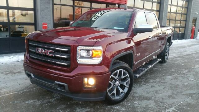 2014 GMC SIERRA 1500 SLT 4X4 4DR CREW CAB 58 FT SB sonoma jewel metallic wow what a beautiful tr