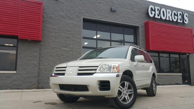 2004 MITSUBISHI ENDEAVOR XLS AWD 4DR SUV dover white pearl carfax 1 owner and no accidents awd