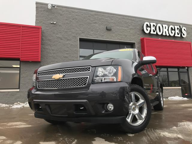 2011 CHEVROLET SUBURBAN LTZ 1500 4X4 4DR SUV gray carfax 1 owner 4wd and leather this thing eat