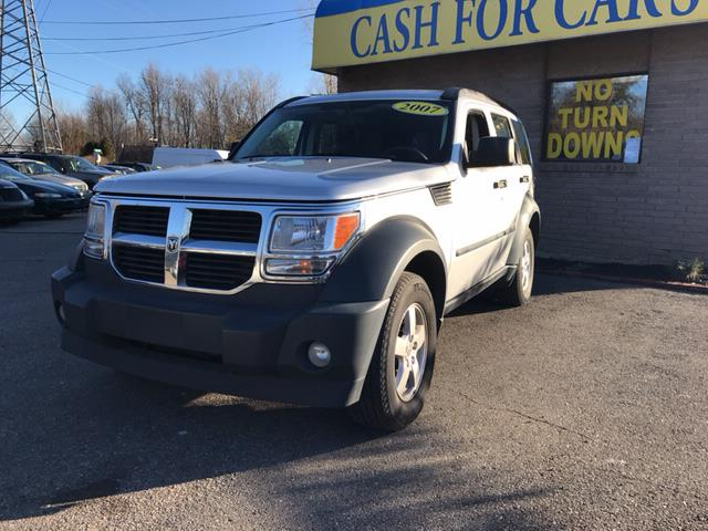 2007 DODGE NITRO SXT 4WD 4DR SUV bright silver metallic 4wd benched because you want to be with