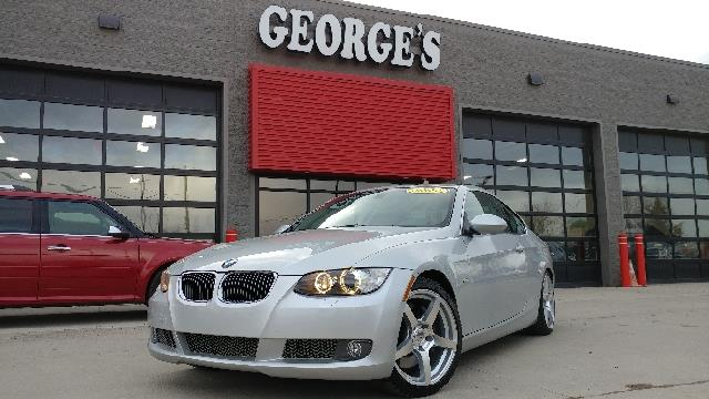 2007 BMW 3 SERIES 335I 2DR COUPE titanium silver metallic what a fantastic deal turbocharged thi