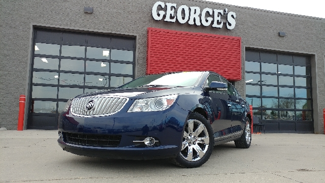 2011 BUICK LACROSSE CXL 4DR SEDAN midnight blue metallic carfax 2 owners and no accidents indica