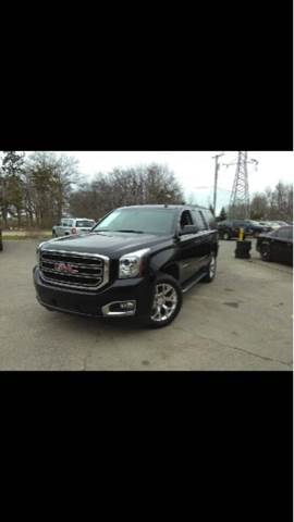 2015 GMC YUKON SLE 4X4 4DR SUV black carfax 1 owner and no accidents 4wd selector - electronic
