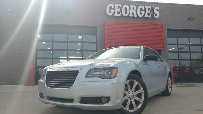 2013 CHRYSLER 300 GLACIER EDITION AWD 4DR SEDAN clearwater blue pearl awd carfax 1 owner and no a