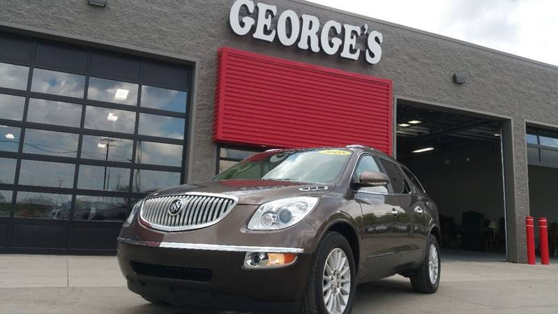 2008 BUICK ENCLAVE CXL AWD 4DR SUV cocoa metallic carfax 1 owner awd theres an ocean of head-