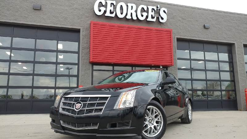 2008 CADILLAC CTS 36L V6 AWD 4DR SEDAN black raven carfax no accidents awd what a wonderful de