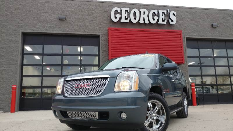 2007 GMC YUKON DENALI AWD 4DR SUV blue awd my my my what a deal what a great deal there is