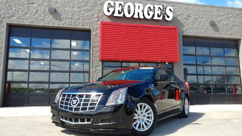 2013 CADILLAC CTS 30L LUXURY AWD 4DR SEDAN black raven awd a great deal in flat rock my my my