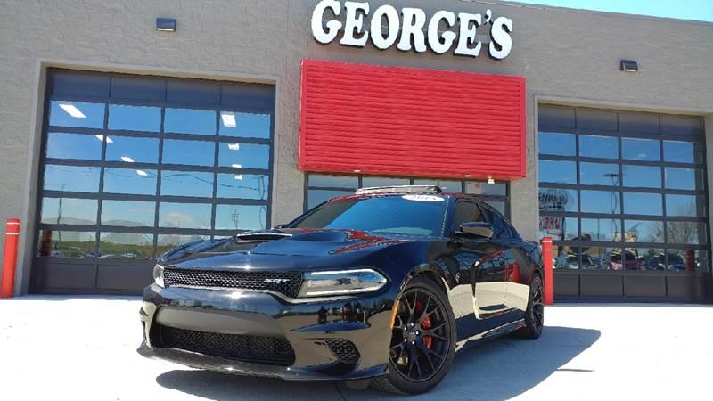 2015 DODGE CHARGER SRT HELLCAT 4DR SEDAN pitch black 707 hp aluminum leather the car youve alw