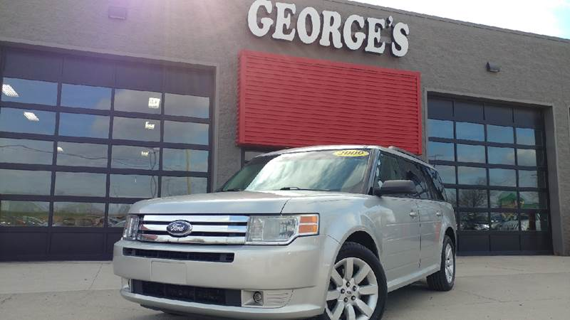 2009 FORD FLEX SE CROSSOVER 4DR ingot silver metallic goes fetch a vehicle so quiet its your v