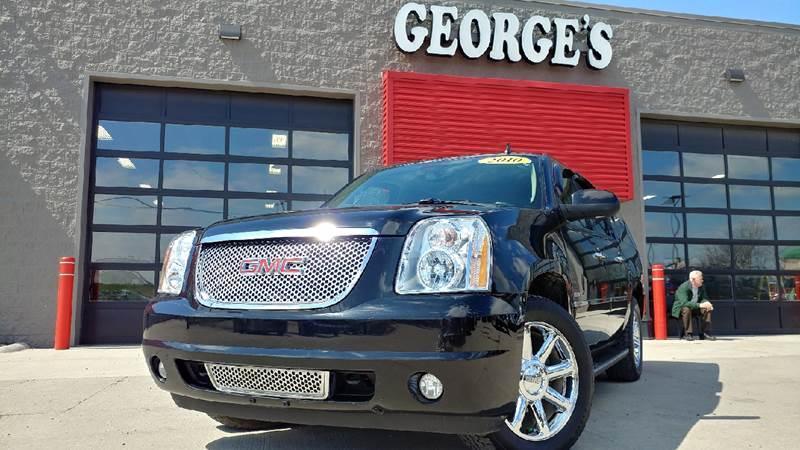 2010 GMC YUKON XL DENALI AWD XL 4DR SUV black carfax 1 owner awd gps nav wow what a sweethear