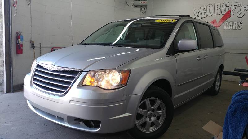 2010 CHRYSLER TOWN AND COUNTRY TOURING 4DR MINI VAN silver 2-stage unlocking doors abs - 4-wheel