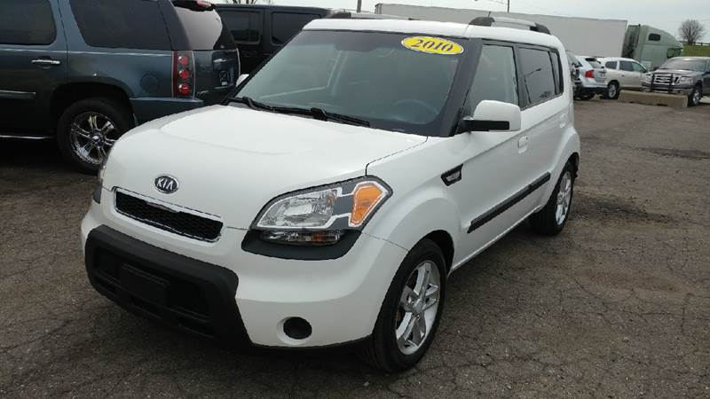 2010 KIA SOUL SPORT 4DR WAGON 4A white wow what a sweetheart thank you for taking the time to l