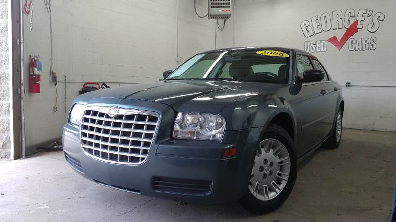2006 CHRYSLER 300 BASE 4DR SEDAN blue carfax 1 owner and no accidents airbag deactivation - occu