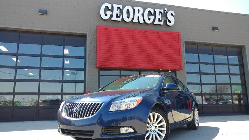 2011 BUICK REGAL CXL 4DR SEDAN WRL3 majestic blue metallic 6-speed automatic electronic with over