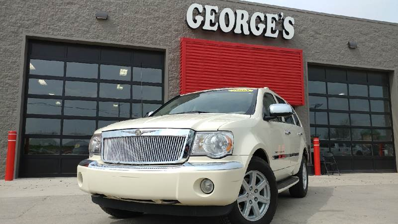 2008 CHRYSLER ASPEN LIMITED 4X4 4DR SUV cool vanilla clearcoat 4wd these measurements mean busin