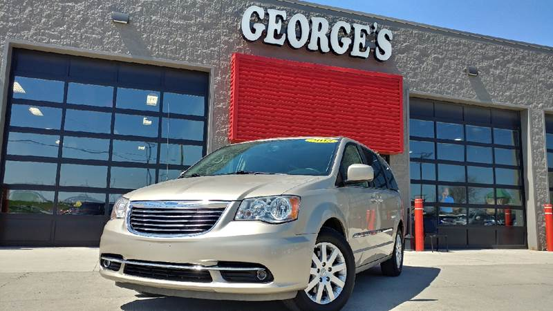 2015 CHRYSLER TOWN AND COUNTRY TOURING 4DR MINI VAN cashmere pearl carfax 2 owner and no accidents