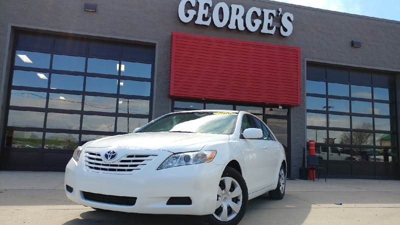 2009 TOYOTA CAMRY LE 4DR SEDAN 5A powder white pearl 2-stage unlocking doors abs - 4-wheel air