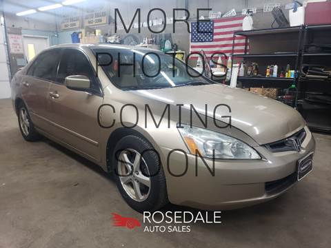 2005 Honda Accord EX for sale at Rosedale Auto Sales Incorporated in Kansas City KS
