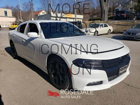 2015 Dodge Charger R/T for sale at Rosedale Auto Sales Incorporated in Kansas City KS