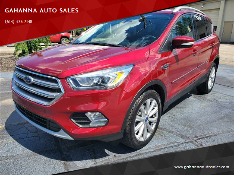 2017 Ford Escape for sale at GAHANNA AUTO SALES in Gahanna OH