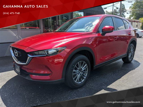 2017 Mazda CX-5 for sale at GAHANNA AUTO SALES in Gahanna OH