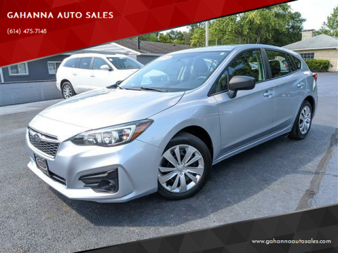 2018 Subaru Impreza for sale at GAHANNA AUTO SALES in Gahanna OH