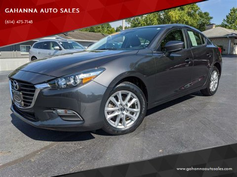2018 Mazda MAZDA3 for sale at GAHANNA AUTO SALES in Gahanna OH