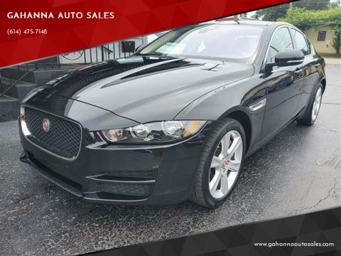 2017 Jaguar XE for sale at GAHANNA AUTO SALES in Gahanna OH