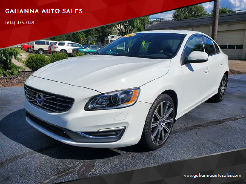 2015 Volvo S60 for sale at GAHANNA AUTO SALES in Gahanna OH
