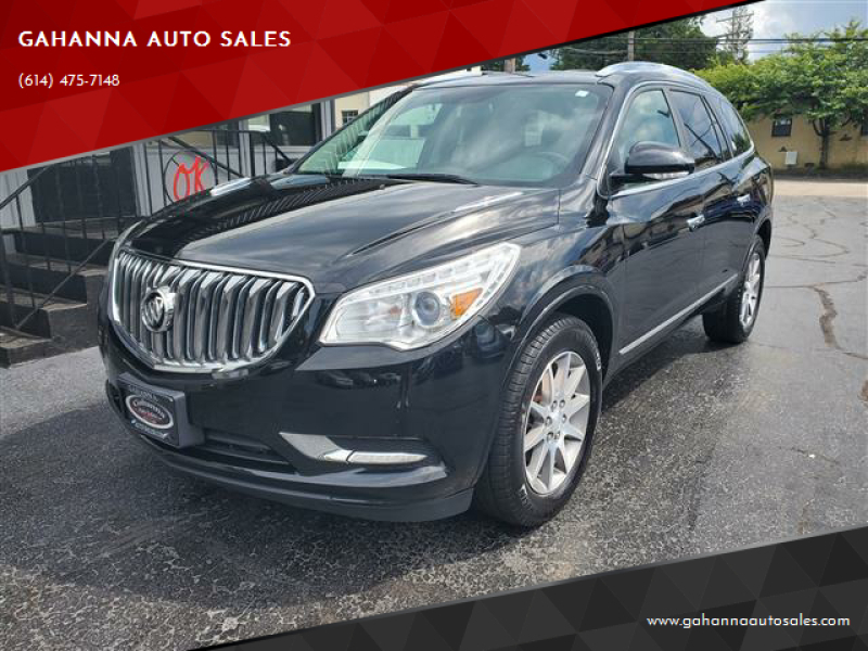 2017 Buick Enclave for sale at GAHANNA AUTO SALES in Gahanna OH
