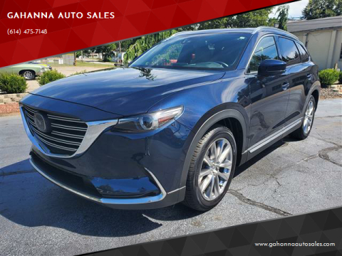 2017 Mazda CX-9 for sale at GAHANNA AUTO SALES in Gahanna OH